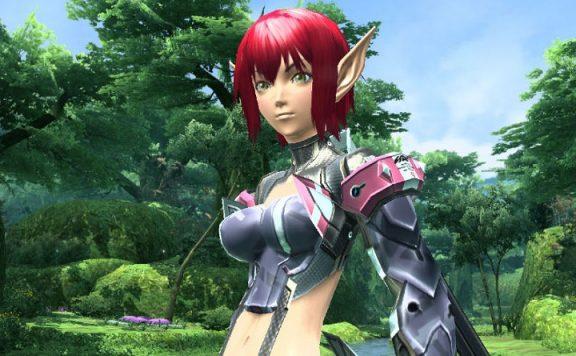 Phantasy Star Online 2 Titel weiblicher charakter