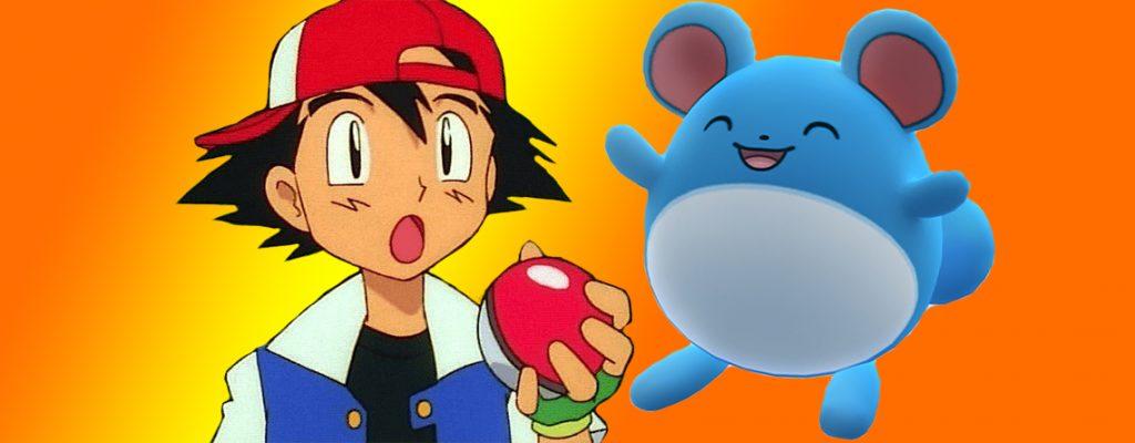 Pokémon GO Ash Marill Titel