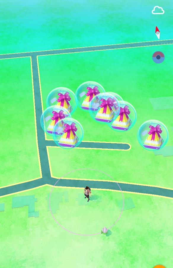 Pokémon GO Kumpel Geschenke