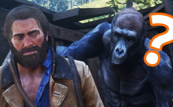 Red Dead Redemption 2 Titel Gorilla 2