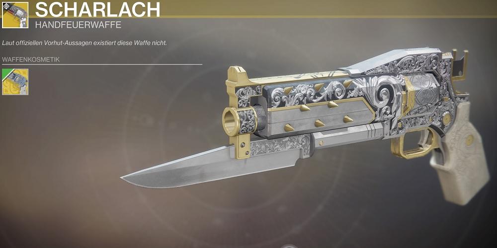 Scharlach Ornament Exotic Destiny 2