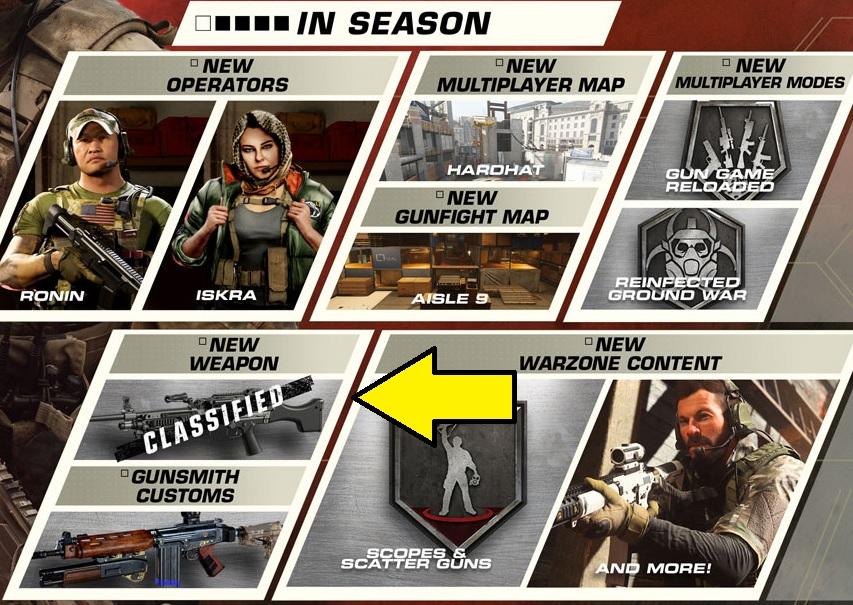 Season 3 Roadmap LMG Call of Duty Warzone Modern