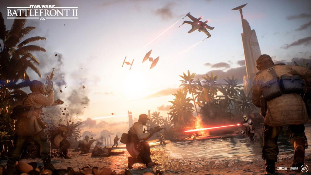 Star Wars Battlefront 2 Scarif Update