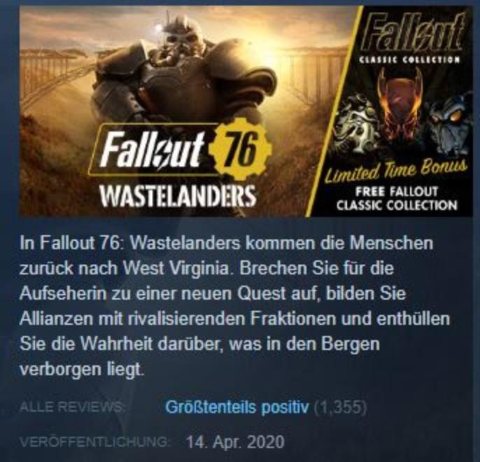 Steam-Fallout-76