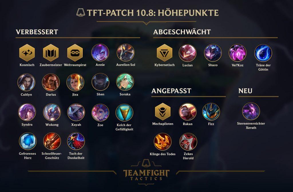 TFT Patch Übersicht 10.8