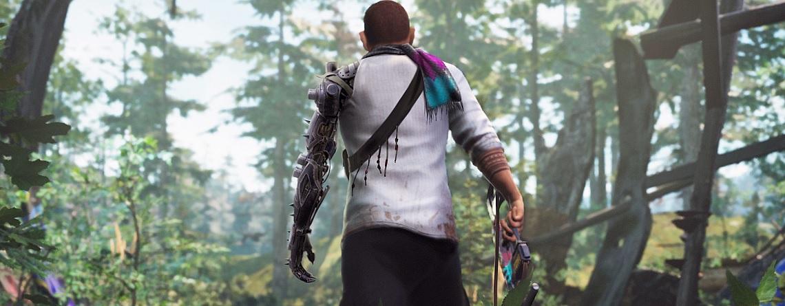 Neuer MMO-Shooter zeigt starke Grafik und Spieler, die Quests geben