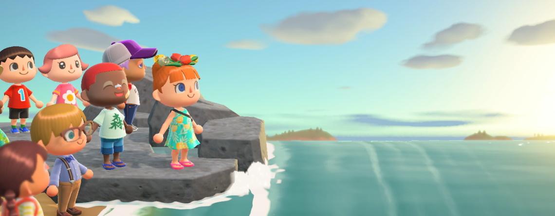 Während der Quarantäne spiele ich Animal Crossing – und das als MMO