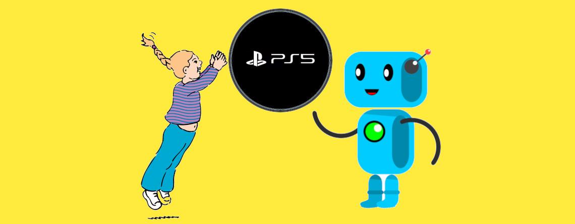Wenn Sony diesen Roboter baut,müsst ihr PS4 und PS5 nie mehr alleine spielen