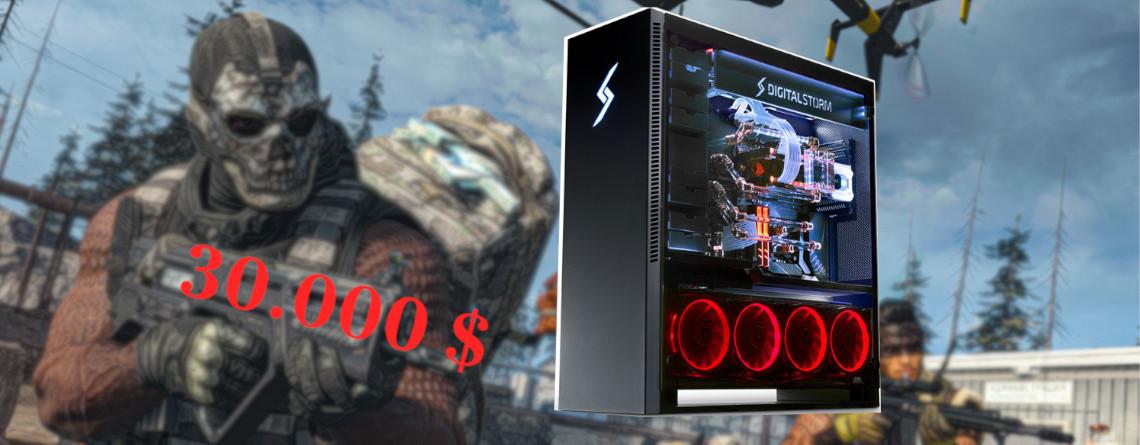 Streamer zeigt Gaming-Setup für 30.000 $ – Das gibt's für so viel Geld