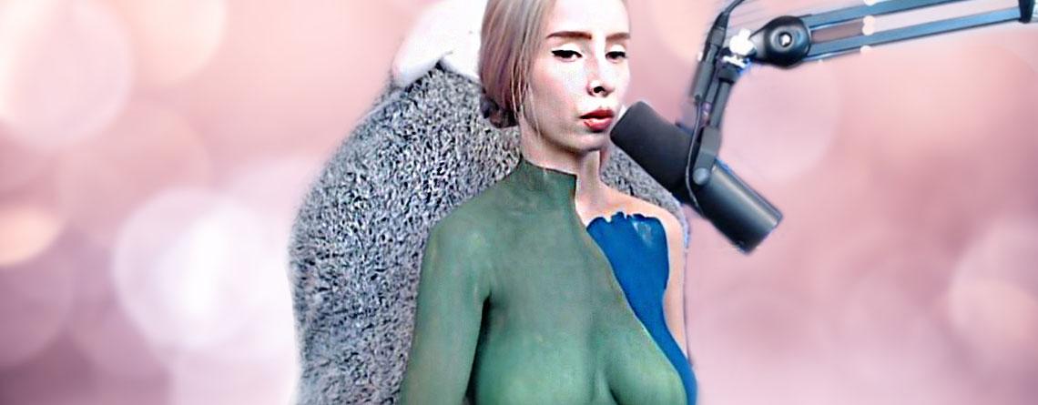 """Twitch bannt Body-Painterin: """"Ich fürchte mich. Das ist mein Vollzeit-Job."""""""