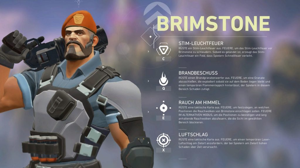 Valorant Brimstone