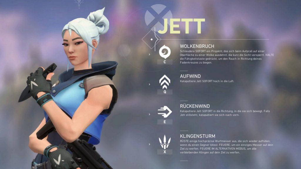 Valorant Jett