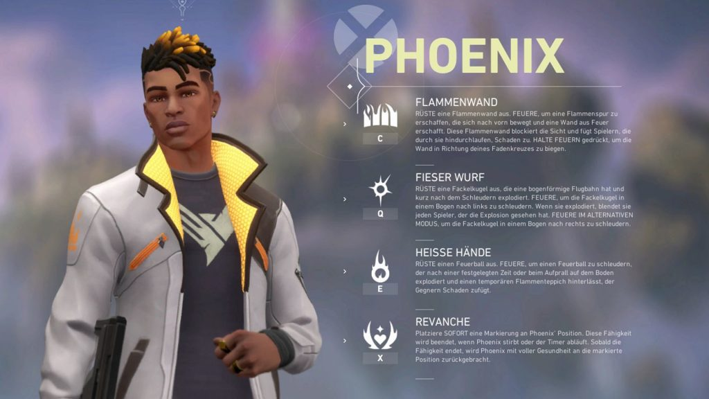 Valorant Phoenix