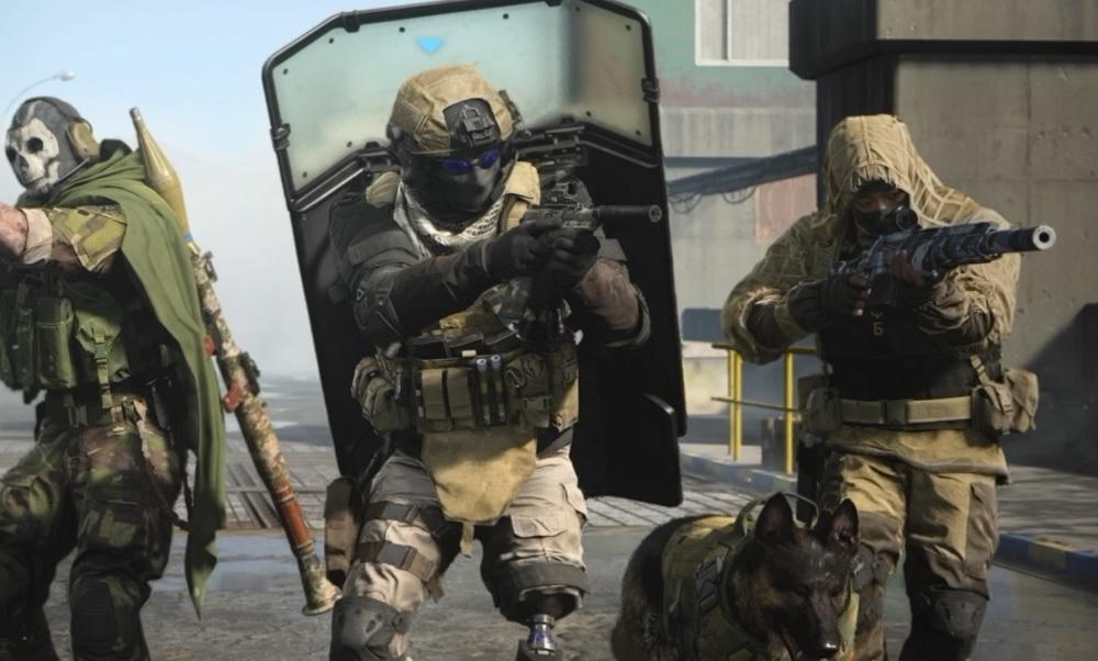 Warzone Shield Team CoD Modern Warfare