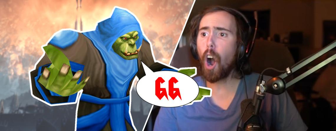 """Blizzard killt zu neugierigen Twitch-Streamer in WoW, sagt: """"GG"""""""