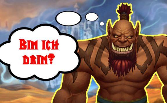 WoW Shadowlands Beta Alpha Anmeldung Titel Orc ist drin 2