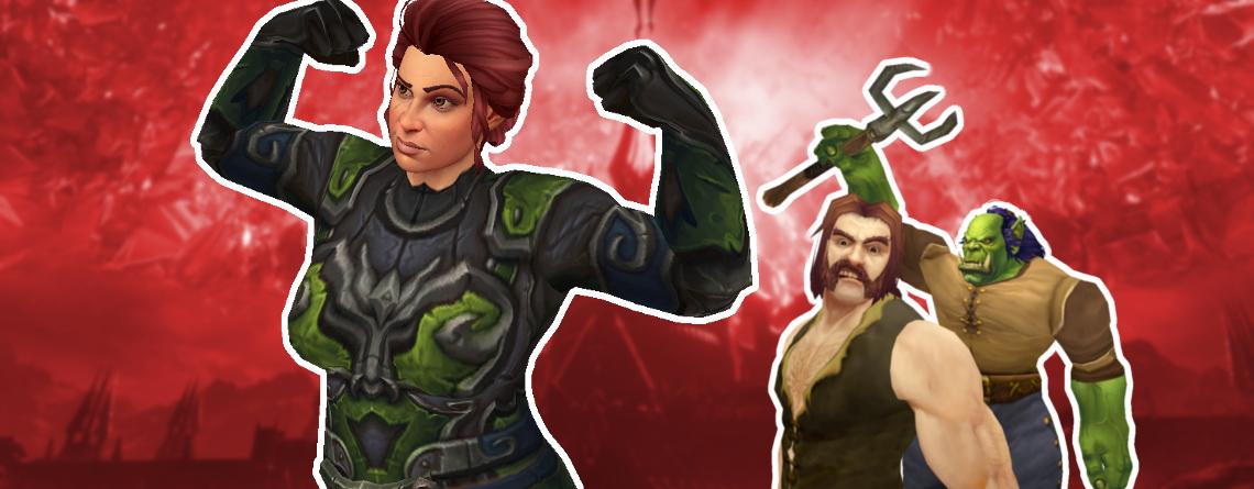 WoW Shadowlands Leveln Spieler Streit Titel 2