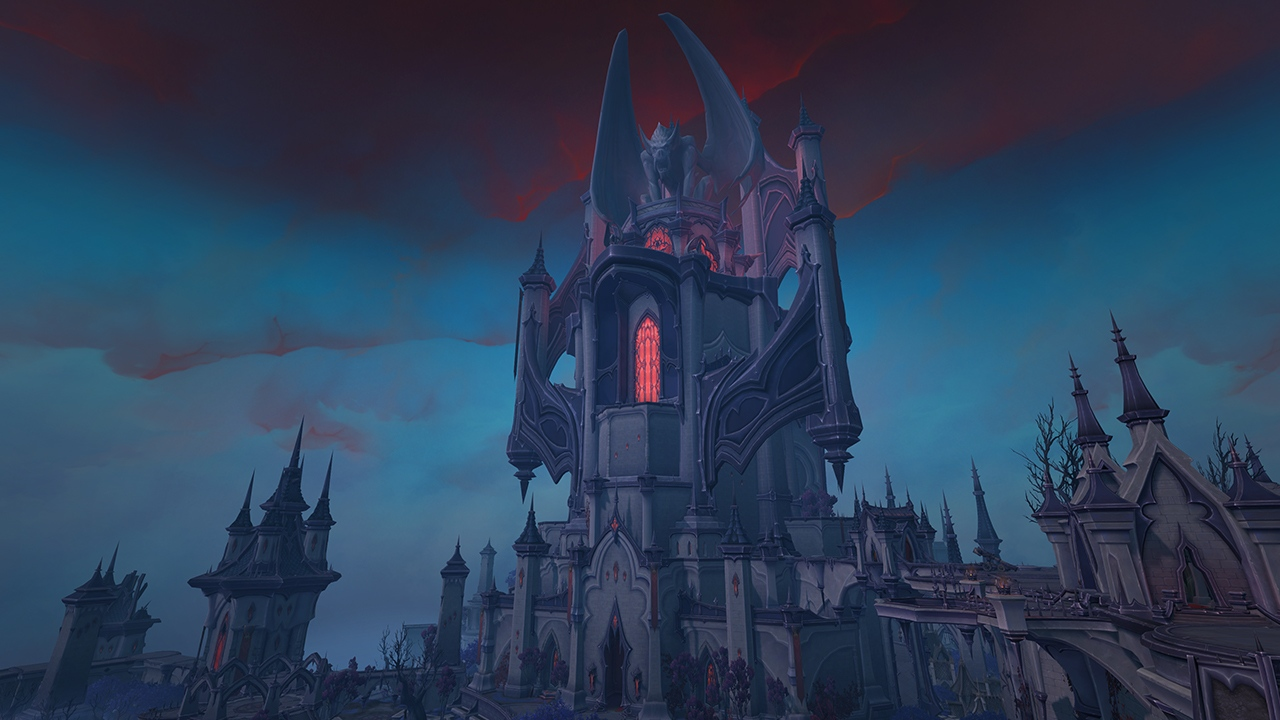 WoW Shadowlands Schloss NAthria