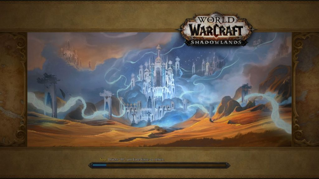 WoW Shadowlands Screenshot Loading Screen