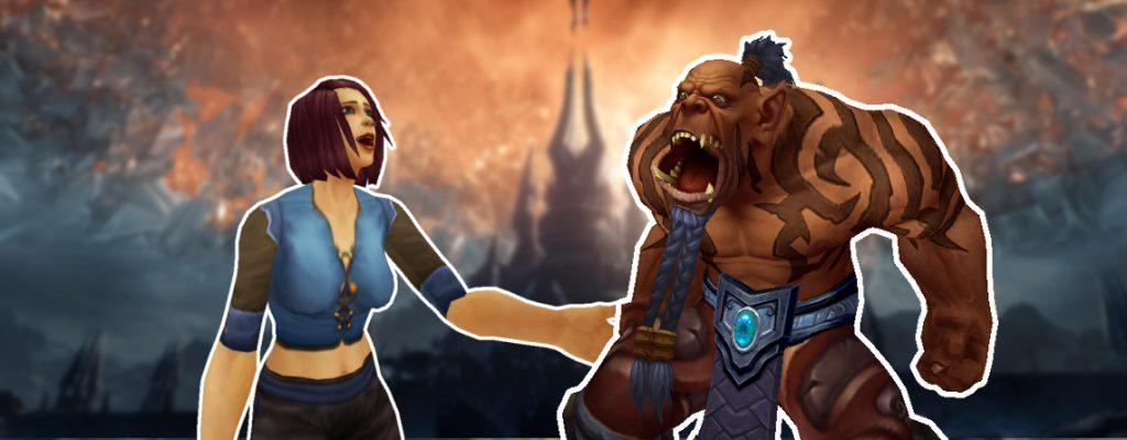 WoW Shadowlands Spieler streiten Titel