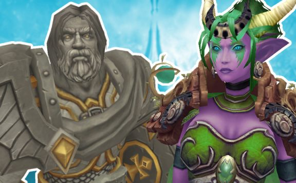 WoW Shadowlands Uther Ysera Titel