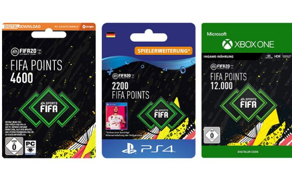 Amazon Angebot: FIFA 20 Points