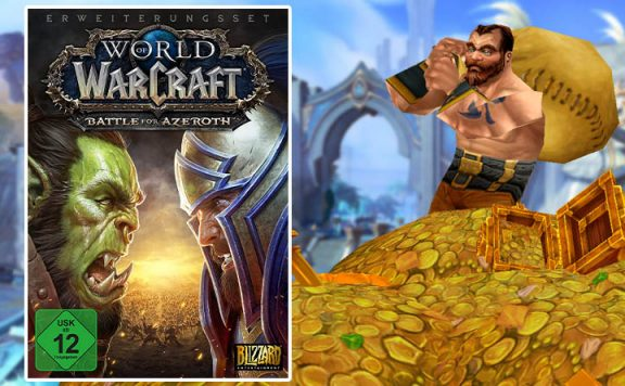 Amazon Angebot: WoW Battle for Azeroth kaufen