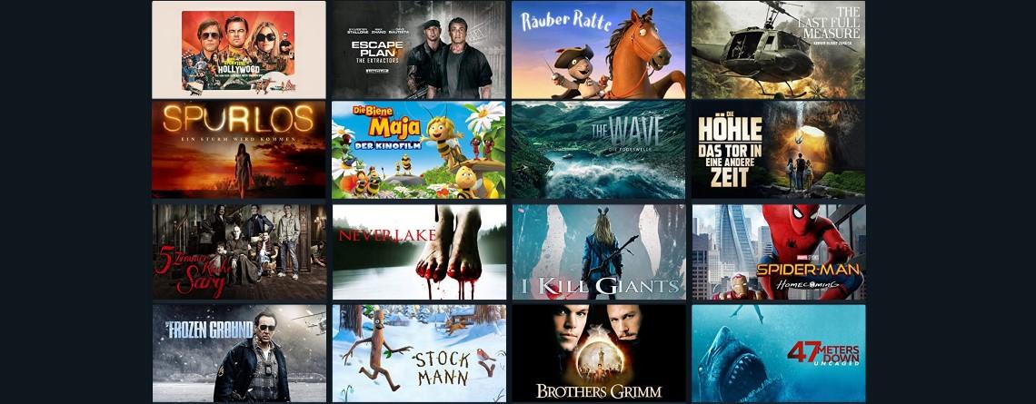Nur noch heute: Viele Filme für 99 Cent leihen – auch ohne Amazon Prime