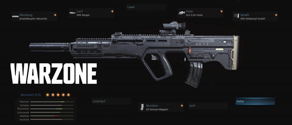 cod modern warfare warzone waffen ram-7 warzone neues setup