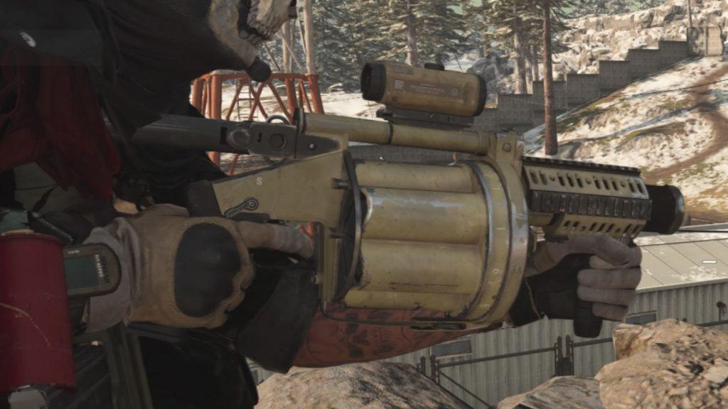 cod warzone waffen granaten werfer