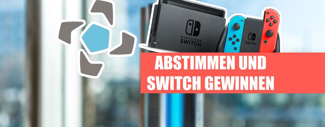 Stimmt beim DCP für euer Lieblings-Game und gewinnt eine Nintendo Switch