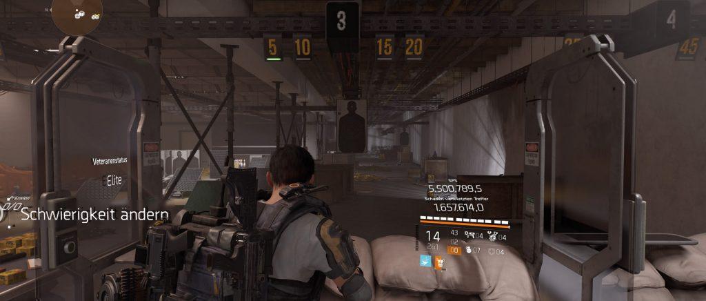 division 2 agent schießstand werte