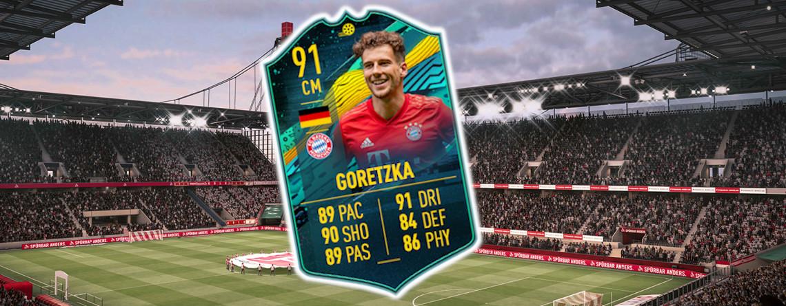 In FIFA 20 ist Goretzka nun richtig stark – Lohnt sich die teure Karte?