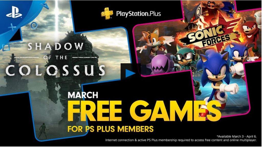 PlayStationPlus im März 2020