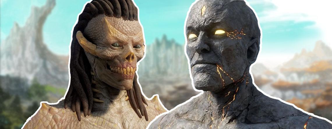 Neues MMORPG zeigt spielbare Monster-Rassen und sie sind so richtig hässlich