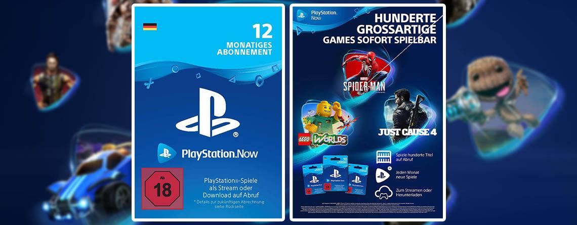 PlayStation Now Angebot: 25% Rabatt auf den Xbox Game Pass der PS4