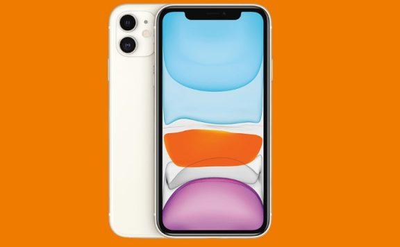 Weißes Apple iPhone 11 aktuell günstig bei Saturn zu haben