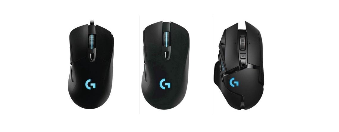 Logitechs Gaming-Mäuse G403, G502 und G703 bei Saturn reduziert