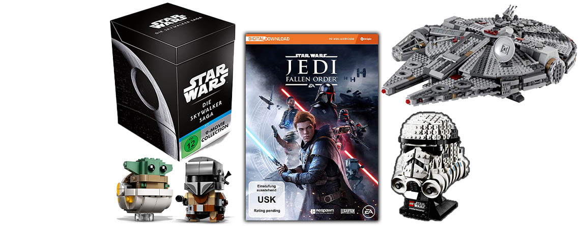 Star Wars Angebote bei Amazon: Filme, LEGO & Fallen Order