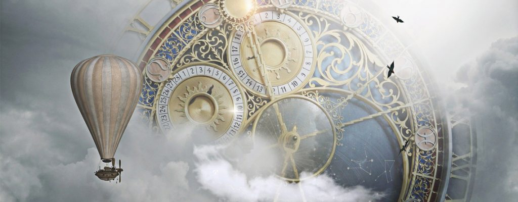 steampunk setting header