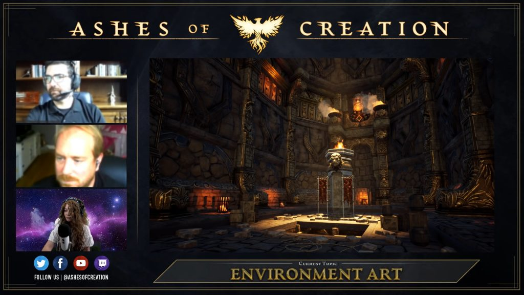 Ashes of Creation Dungeon 1 Footage Gameplay Livestream