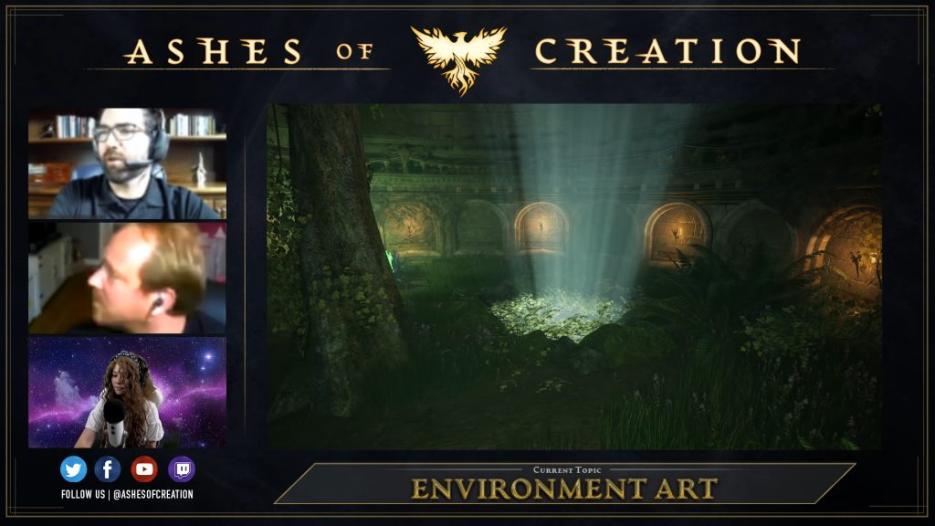 Ashes of Creation Dungeon 2 Footage Gameplay Livestream