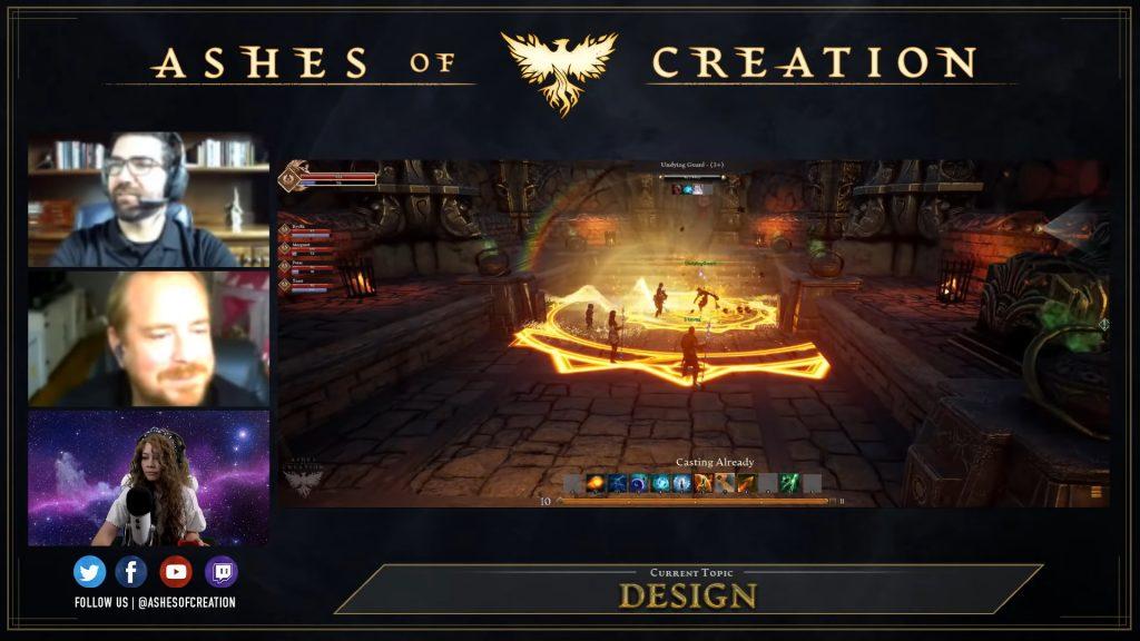 Ashes of Creation Gameplay Attacken Spieler