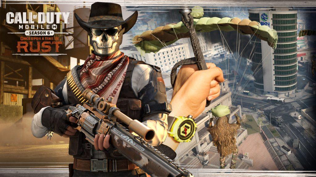 Call of Duty Mobile Season 6 Cowboy Uhr