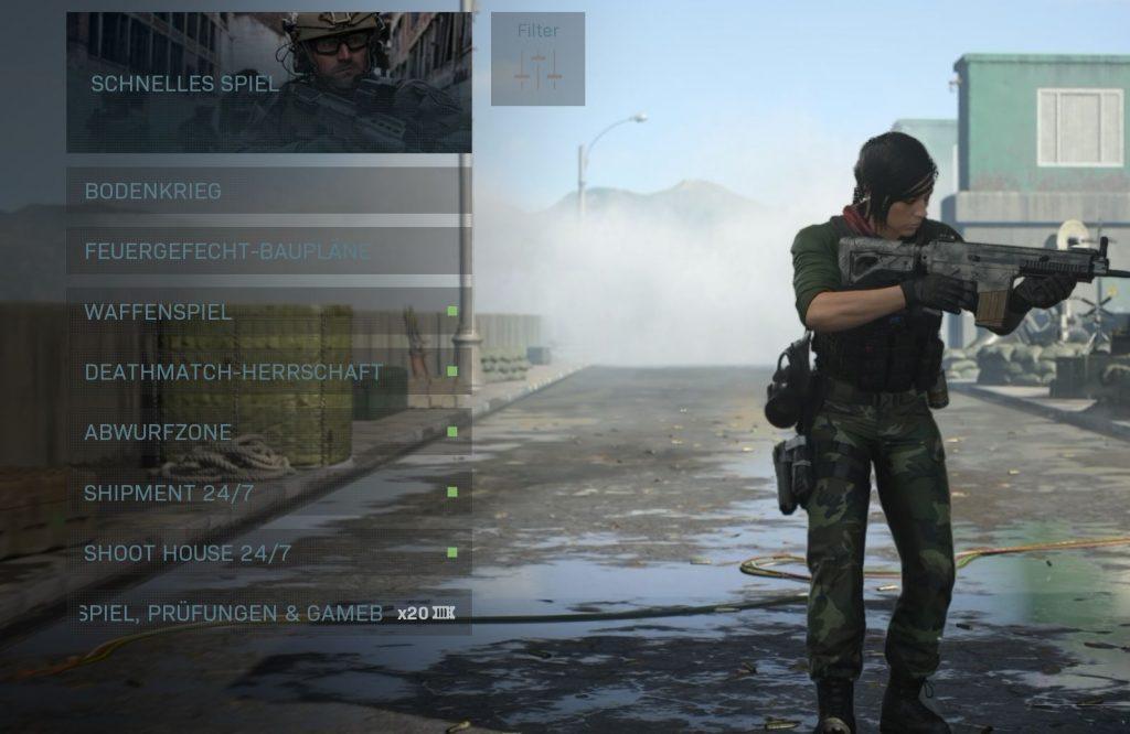 Call fo Duty Modern Warfare Playlist Update 26 Mai