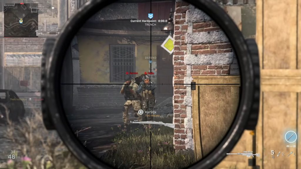 Call fo Duty Warzone Training Scope Ace