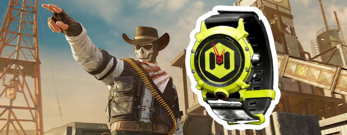 Call of Duty schenkt euch eine Uhr in Warzone und MW – So holt ihr sie