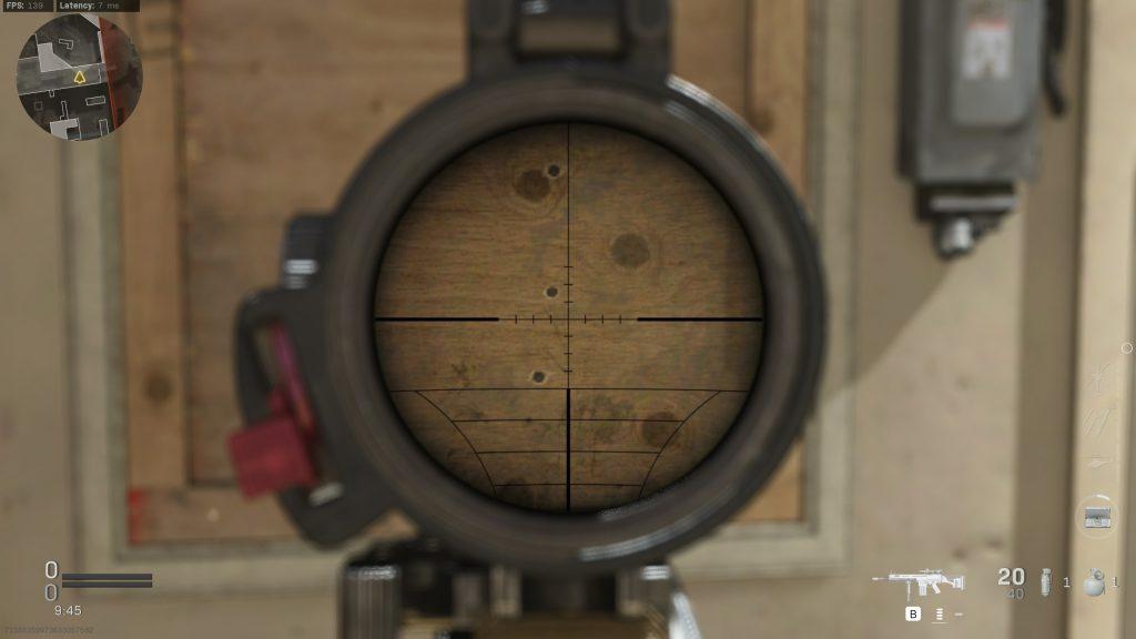Call of Duty Modern Warfare Wand Scope