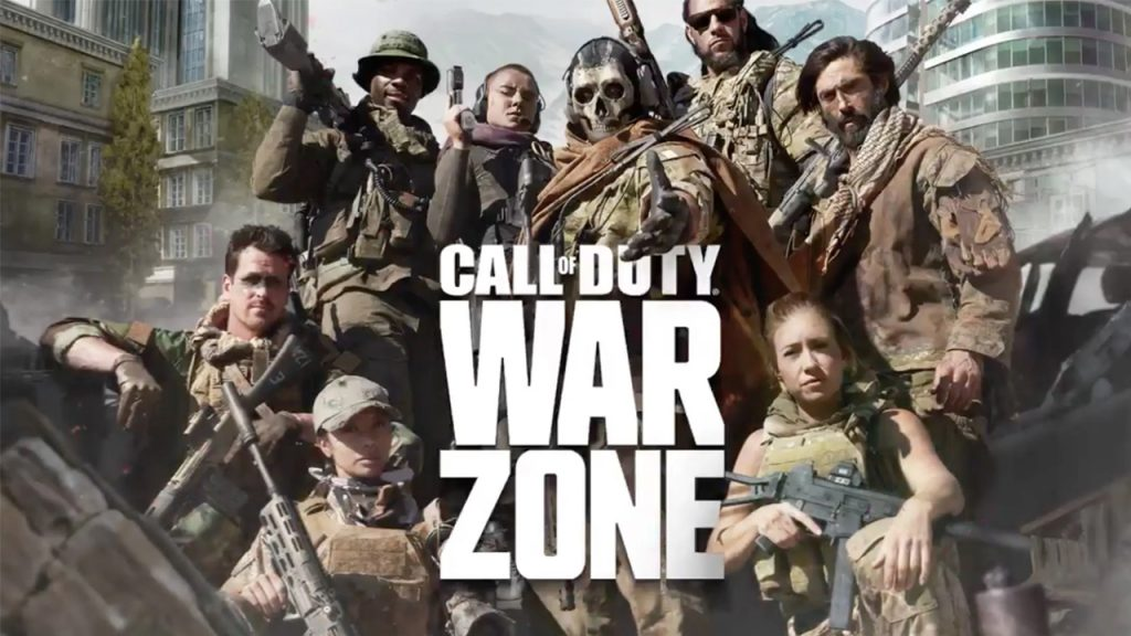 Call of Duty Warzone Gruppe