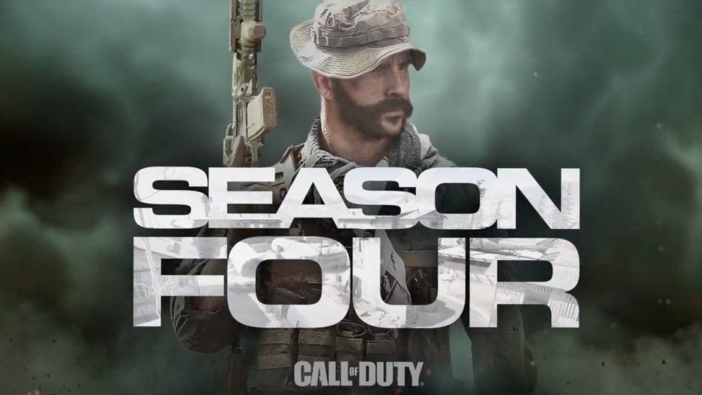 CoD MW Season 4 title